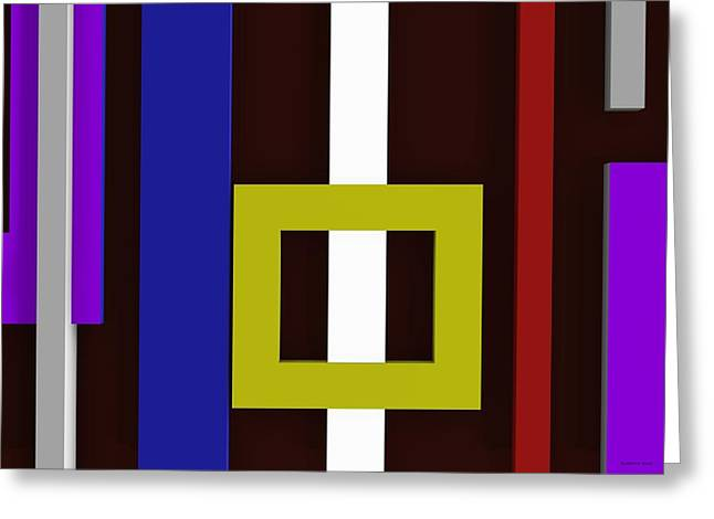 Rectangles Greeting Cards - Ad5ac Greeting Card by Alberto  RuiZ