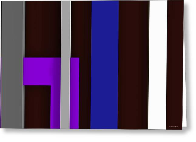 Rectangles Greeting Cards - Ad6ac Greeting Card by Alberto  RuiZ
