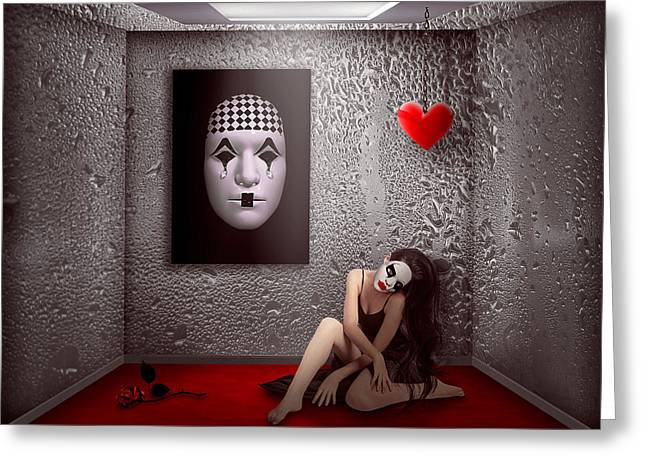 """""""photo Manipulation"""" Photographs Greeting Cards - Adagio.. Greeting Card by Nataliorion"""