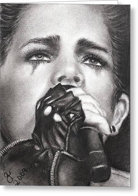 Entertainer Drawings Greeting Cards - Adam Lambert Greeting Card by Grace Rose