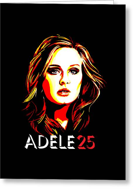 Adele 25-1 Greeting Card by Tim Gilliland