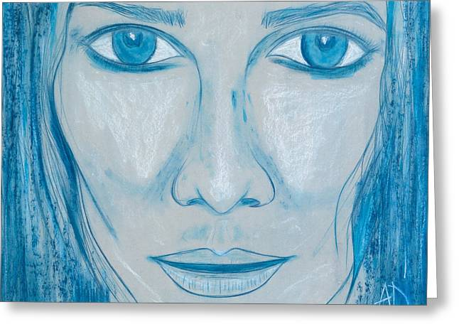 Bella Donna Greeting Cards - Adriana Greeting Card by Alberto Dell