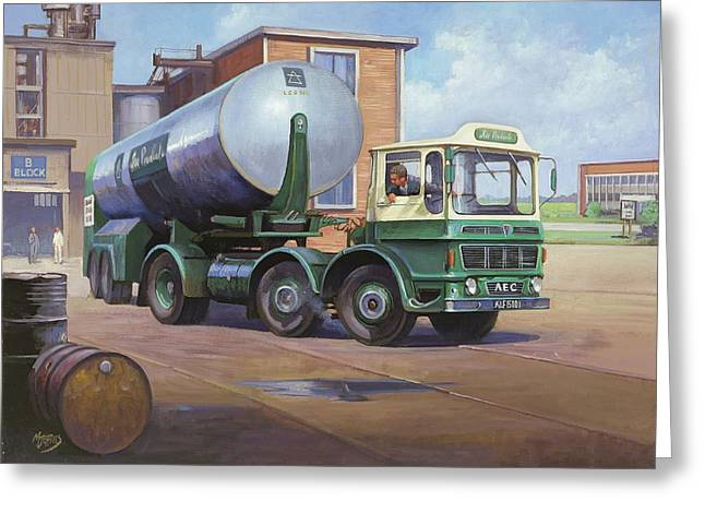 Aec Air Products Greeting Card by Mike  Jeffries