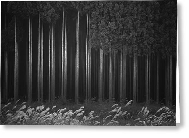 Afforestation Greeting Card by Tsuneya Fujii