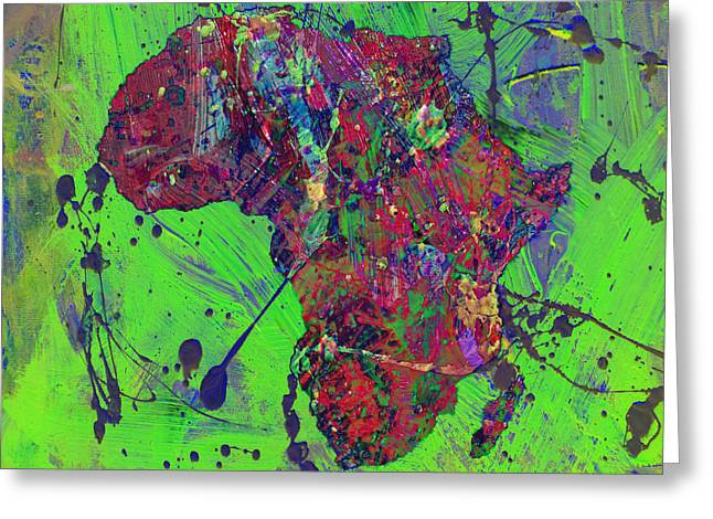 Africa 12b Greeting Card by Brian Reaves