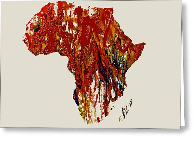 Civil Rights Greeting Cards - Africa 1b Greeting Card by Brian Reaves