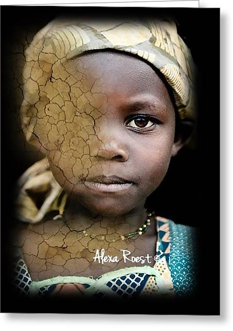 Africa Pure 8 Greeting Card by Alexa Roest