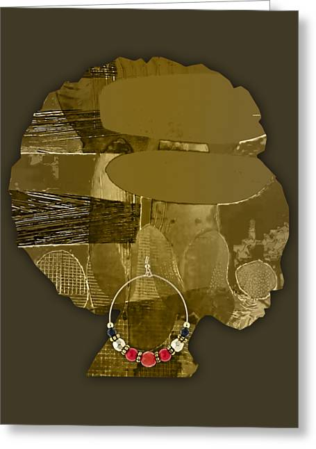 African Greeting Cards - African America Greeting Card by Marvin Blaine