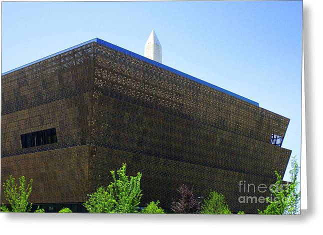 African American History And Culture 1 Greeting Card by Randall Weidner