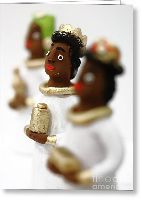 African Heritage Photographs Greeting Cards - African Wise Men Greeting Card by Gaspar Avila