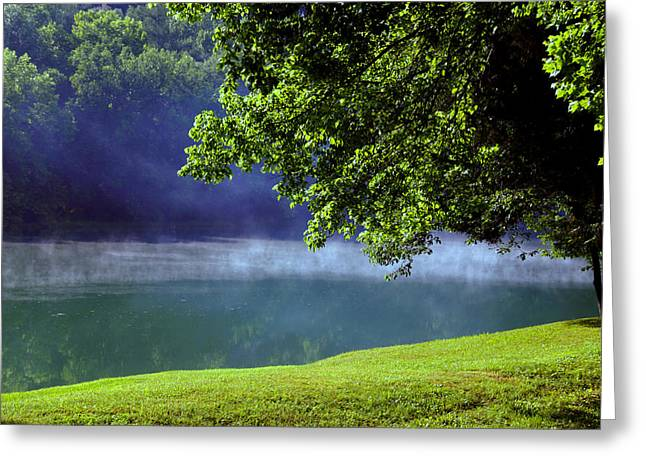 Mystical Landscape Photographs Greeting Cards - After a warm summer rain Greeting Card by Susanne Van Hulst
