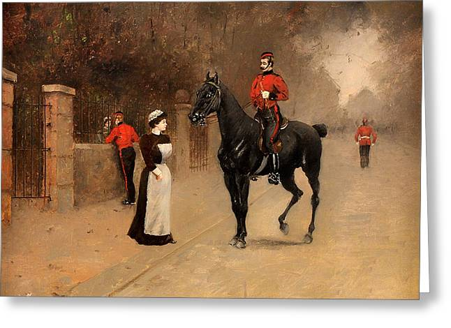 Royal Art Greeting Cards - After Drilling - Kensington Greeting Card by Unknown