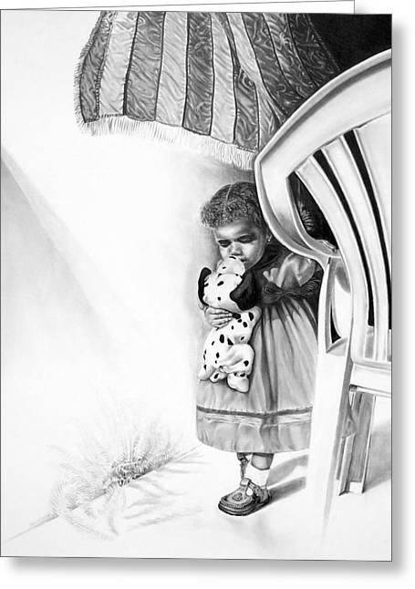 Cool Drawing Greeting Cards - After September Greeting Card by Dennis Rennock