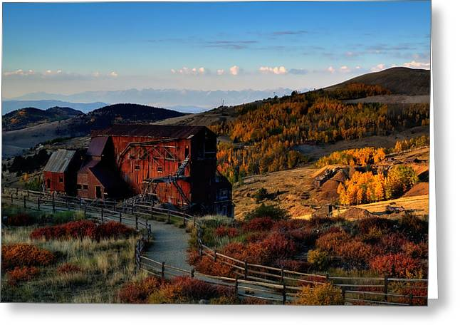 After The Gold Rush Greeting Card by Tim Reaves