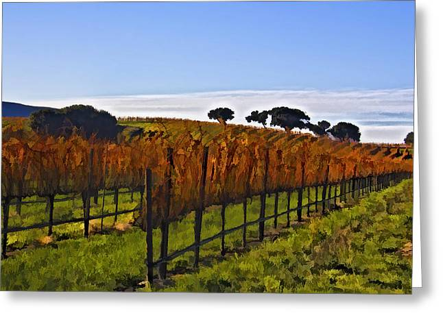 Fall Grass Greeting Cards - After The Harvest Greeting Card by Patricia Stalter