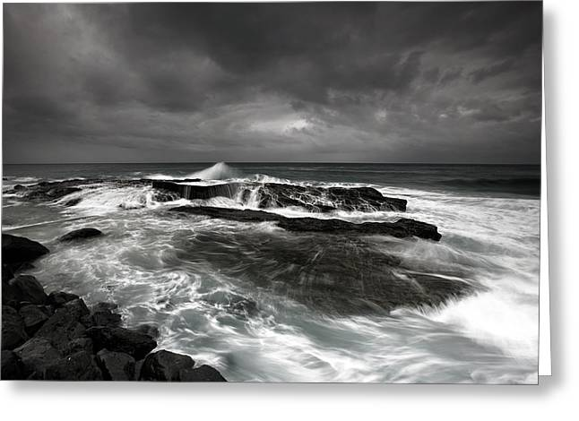 Rocks Greeting Cards - After The Storm Greeting Card by Mel Brackstone