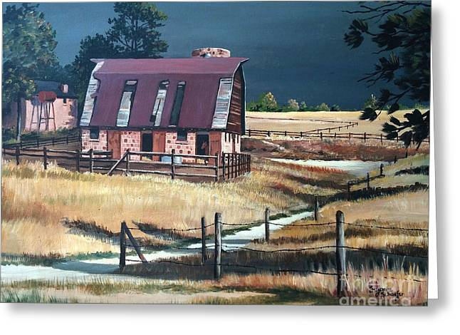 After The Storm Greeting Card by Suzanne Schaefer