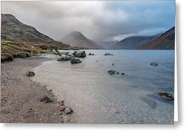 After The Storm - Wast Water, Lake District, Uk. Greeting Card by Daniel Kay
