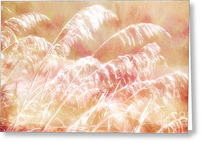 Sand Dunes Paintings Greeting Cards - Afterglow II Greeting Card by Dan Carmichael
