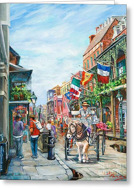 Louisiana Greeting Cards - Afternoon on St. Ann Greeting Card by Dianne Parks
