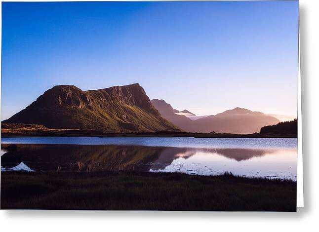 Lofoten Greeting Cards - Afternoon reflections Greeting Card by Tor-Ivar Naess