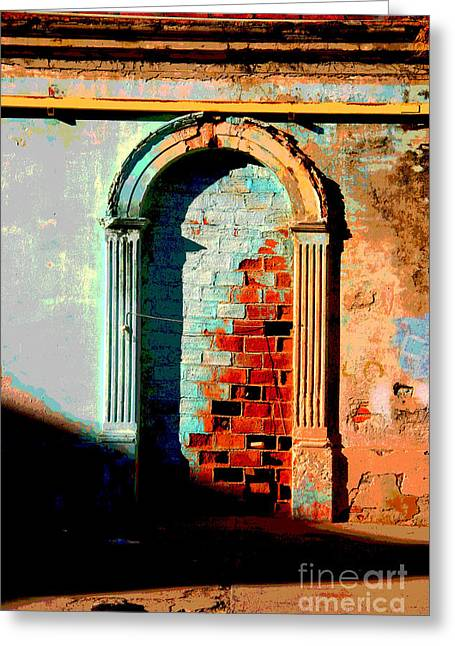 Portal Greeting Cards - Afternoon Sun by Peter Birnie Greeting Card by Olden Mexico