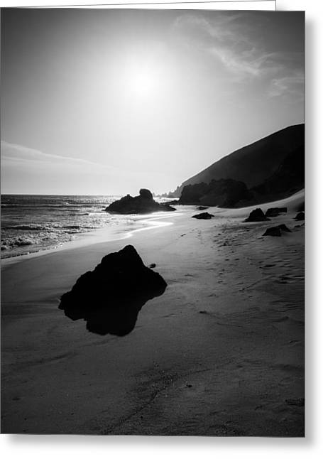 Pfeiffer Beach Greeting Cards - Against the Wind Greeting Card by Alexander Kunz