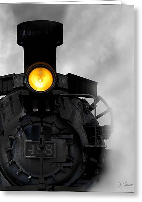 Steam Engine Greeting Cards - Age of Steam No. 2 Greeting Card by Joe Bonita