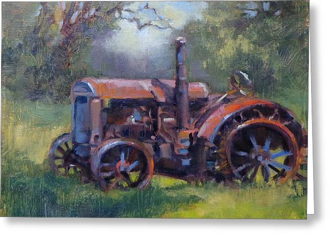 Aged To Perfection Greeting Card by Donna Shortt