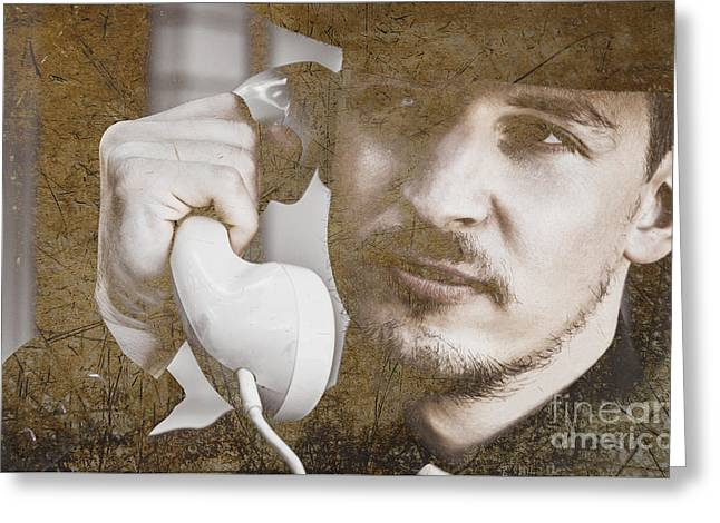 Aggression In Discretion Greeting Card by Jorgo Photography - Wall Art Gallery