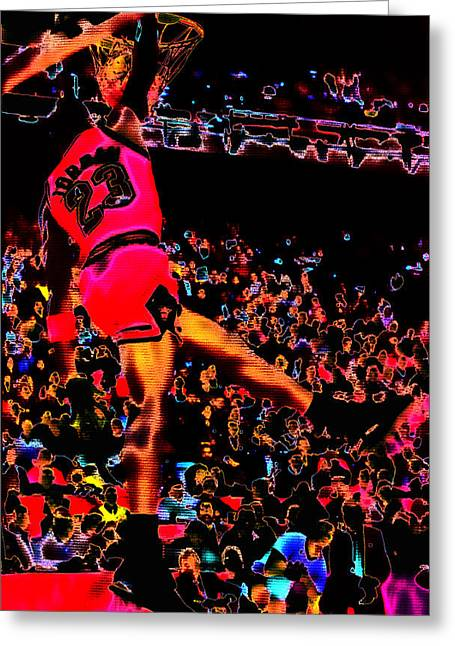 Charles Barkley Greeting Cards - Air Jordan 04 Greeting Card by Brian Reaves