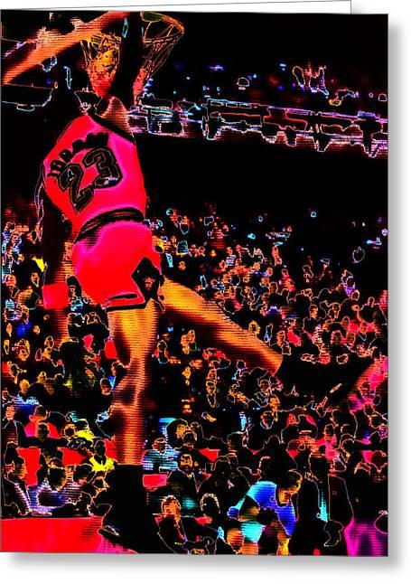 Charles Barkley Greeting Cards - Air Jordan 04 Greeting Card by Brian Reaves