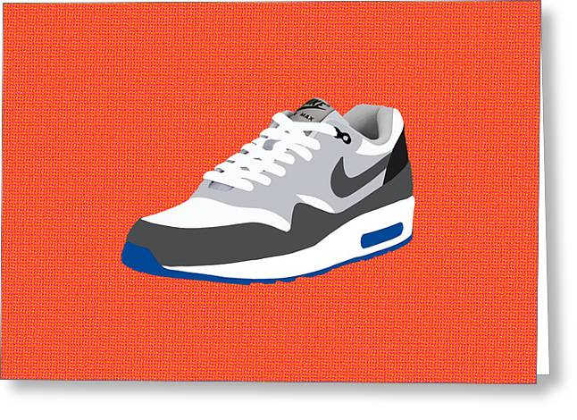 Air Max 1 Greeting Card by Mark Rogan