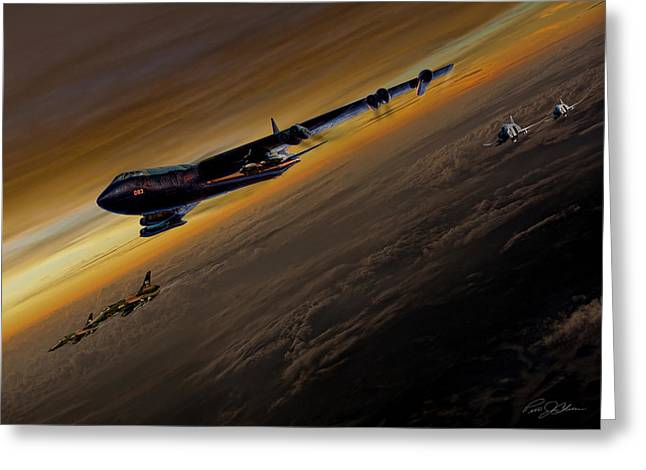 Air Power Legends Greeting Card by Peter Chilelli
