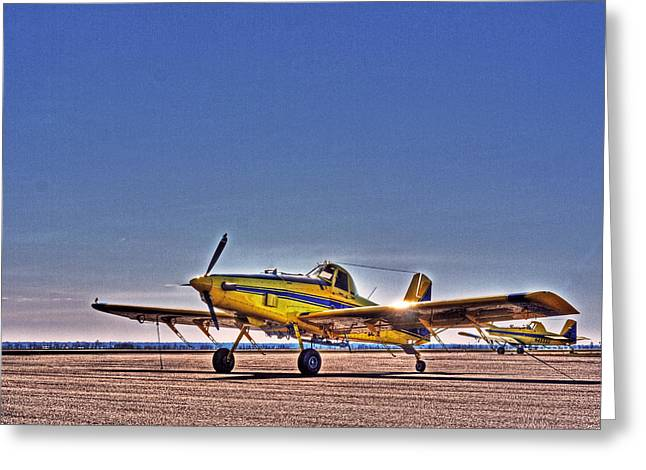 Air Tractors Greeting Cards - Air Tractor Greeting Card by William Fields