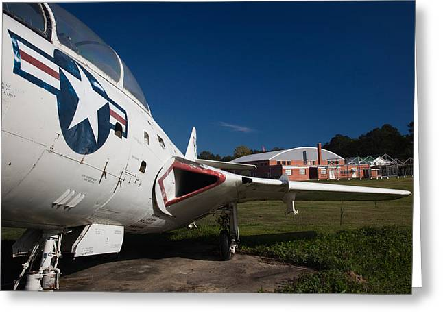Airplane At A Historic Site, Tuskegee Greeting Card by Panoramic Images