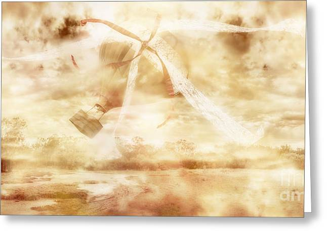 Helium Greeting Cards - Airs of freewill - Gusts of fate Greeting Card by Ryan Jorgensen