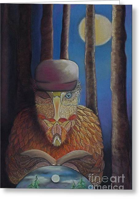 Tracey Levine Greeting Cards - aka Mr. King Greeting Card by Tracey Levine