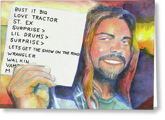 aka Panic Schools Greeting Card by David Sockrider