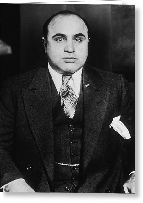Al Capone - Scarface Greeting Card by War Is Hell Store