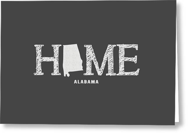 University Of Alabama Greeting Cards - AL Home Greeting Card by Nancy Ingersoll