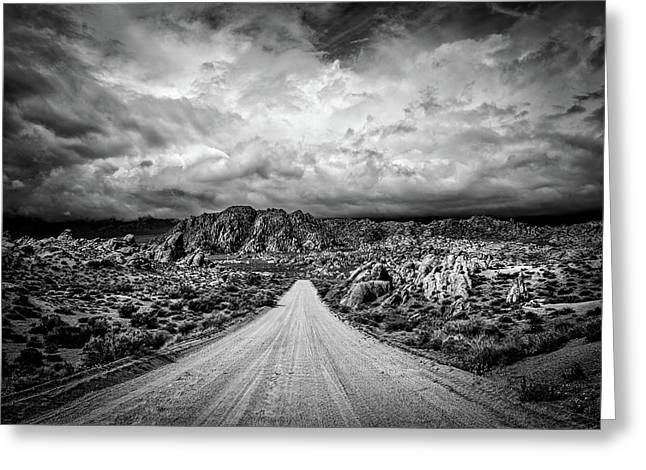 Alabama Hills California Greeting Card by Peter Tellone