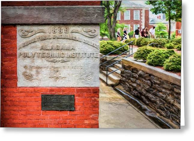 Alabama Greeting Cards - Alabama Polytechnic Institute Greeting Card by JC Findley