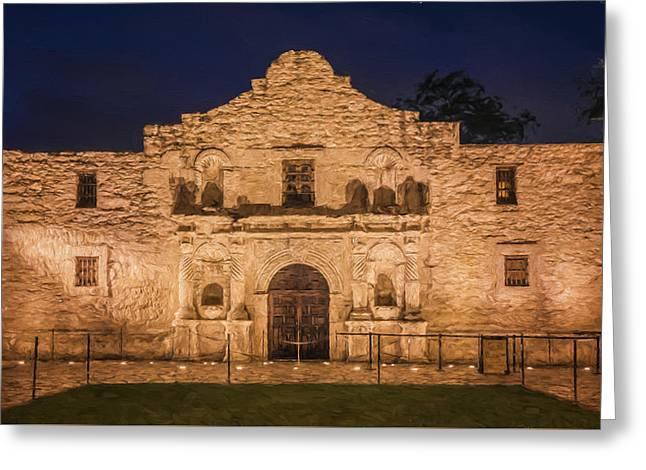 Stones Greeting Cards - Alamo Dawn III Greeting Card by Joan Carroll