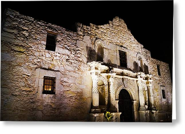 Independance Greeting Cards - Alamo Remembrance Greeting Card by Craig Morrison