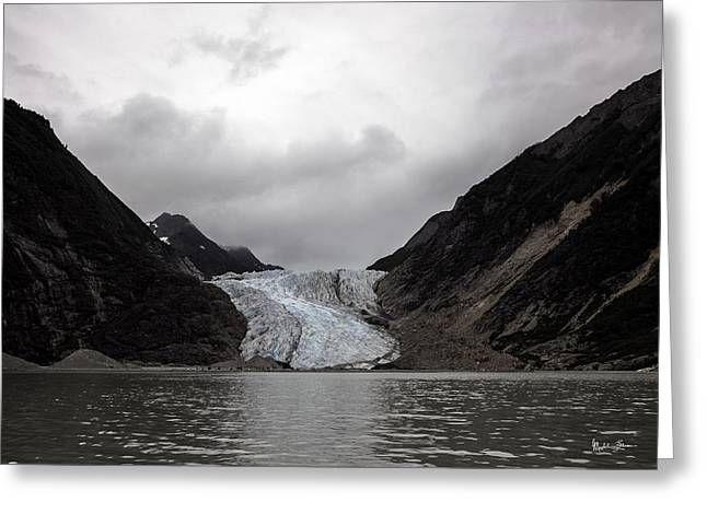 Shore Excursion Greeting Cards - Alaska Glacier 2 Greeting Card by Madeline Ellis
