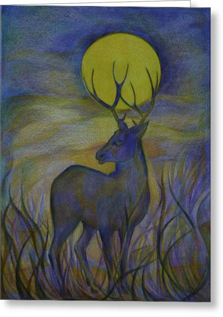 Wild Life Drawings Greeting Cards - Alaska Stories. Part Four Greeting Card by Anna  Duyunova