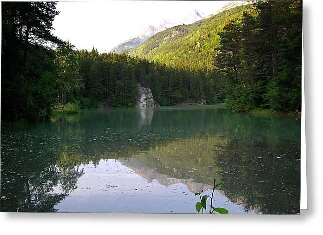 Alaska Lake Greeting Cards - Alaskan Lake Greeting Card by Douglas Barnett