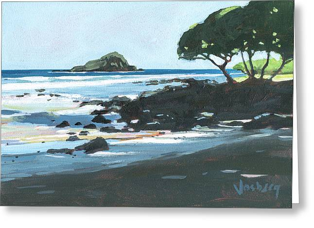 Alau Island Hana Greeting Card by Stacy Vosberg