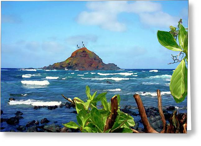 Paradise Greeting Cards - Alau Island Maui Hawaii Greeting Card by Kurt Van Wagner